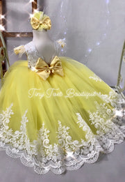 Leelah Dress (Yellow)