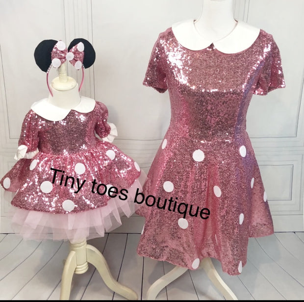 Minnie Mouse Mommy and Me Dress