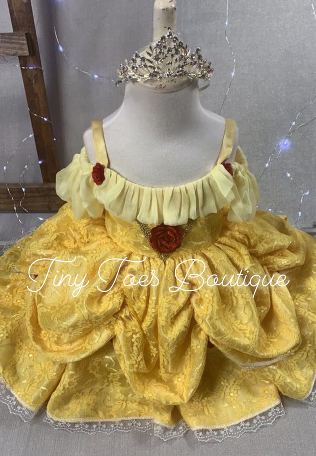 Princess Belle Vintage Inspired Gown