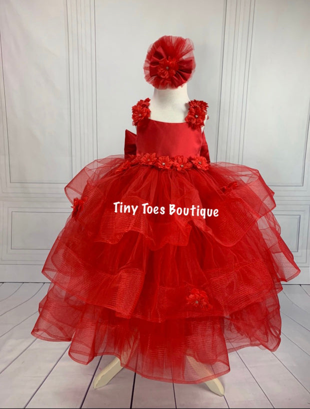 Julie Ann Gown (red)