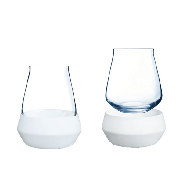 Chef & Sommilier Reveal Up Stemless Whiskey/Wine Set of 2