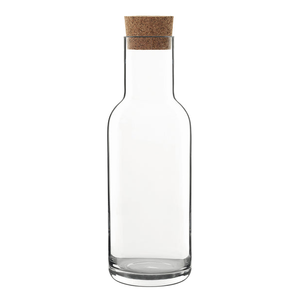 Luigi Bormioli Sublime Carafe with Cork Stopper
