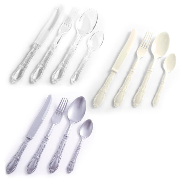Nicolson Russell Antique Plastique Cutlery Set of 24