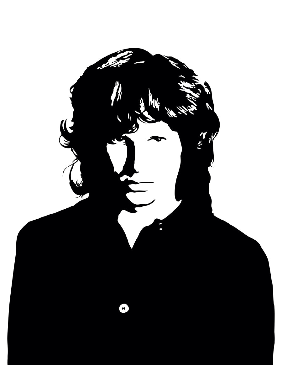... Jim Morrison - Art Print of The Doors Frontman Jim Morrison - DropkickArt  sc 1 st  DropkickArt & Jim Morrison - Art Print of The Doors Frontman Jim Morrison ...