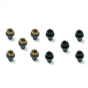 5 Brass & 5 Plastic Detail Brushes
