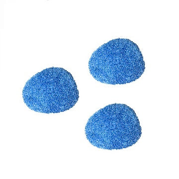 Ultra Microfiber Pad for small Brush (Pack of 3)
