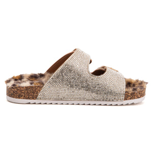 Girls Leopard Lounge Slipper