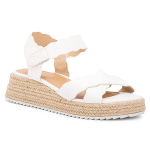 Women's Trinity Scalloped Sandal
