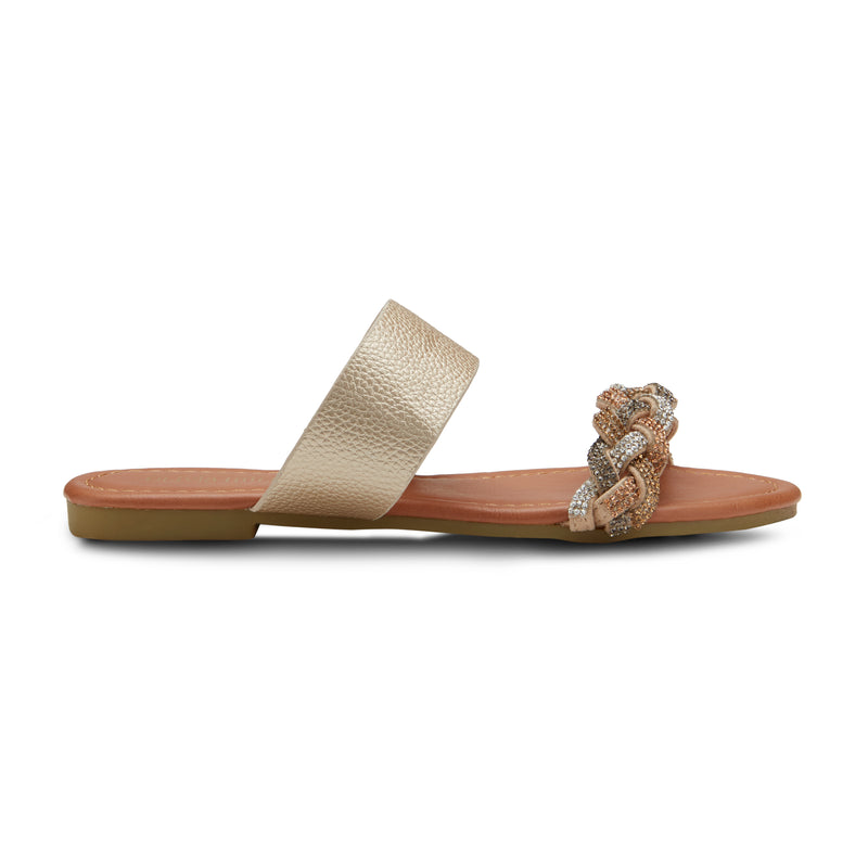 Women's tWisted sister sandal's