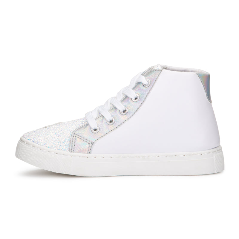Girl's Superstar High Top Sneakers