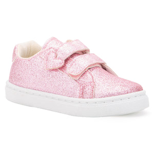 Toddler Shimmering Heart Sneaker