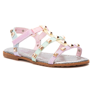 Toddler Rainbow Studs Sandal