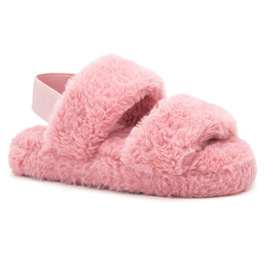 Girls Lady In Plush Slipper