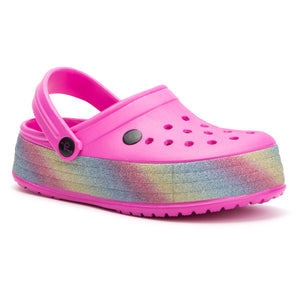 Girls High Rise Candy Twist Slipper