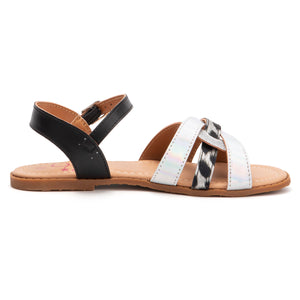 Girls Leopard For Days Sandal
