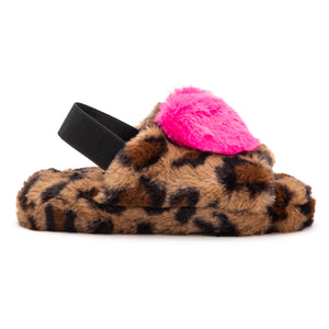 Girls Protruding Heart Slipper
