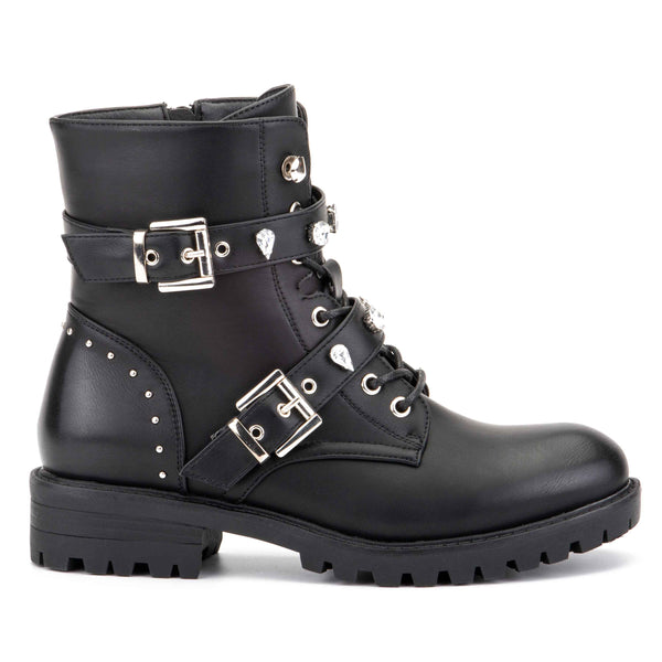 Women's Charmed Life Combat Boots