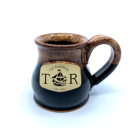 "Tea Runners ""Irish Stout"" Stoneware Mug"