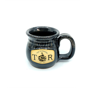 "Tea Runners ""Silvery Night"" Stoneware Mug"