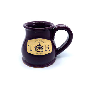 "Tea Runners ""Imperial Purple"" Stoneware Mug"