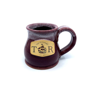 "Tea Runners ""Morning Mums"" Stoneware Mug"