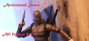 New Ninja Prices in 2020 for Articulated Icons