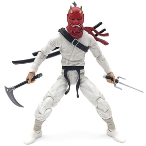 Deluxe Ninja White Action Figure Toy