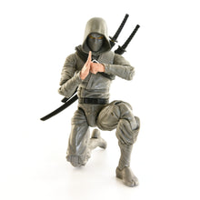 Basic Ninja Grey Action Figure Toy