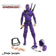 Basic Ninja Purple Action Figure Toy