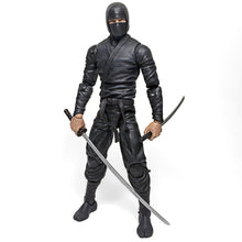 Deluxe Ninja Black Action Figure Toy