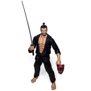 Itami Evil Sensei Martial Artist Action Figure Toy