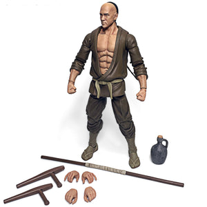 Seijun Drunken Master Martial Artist Action Figure Toy