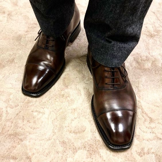 Bondeno custom made Italian leather dress shoes