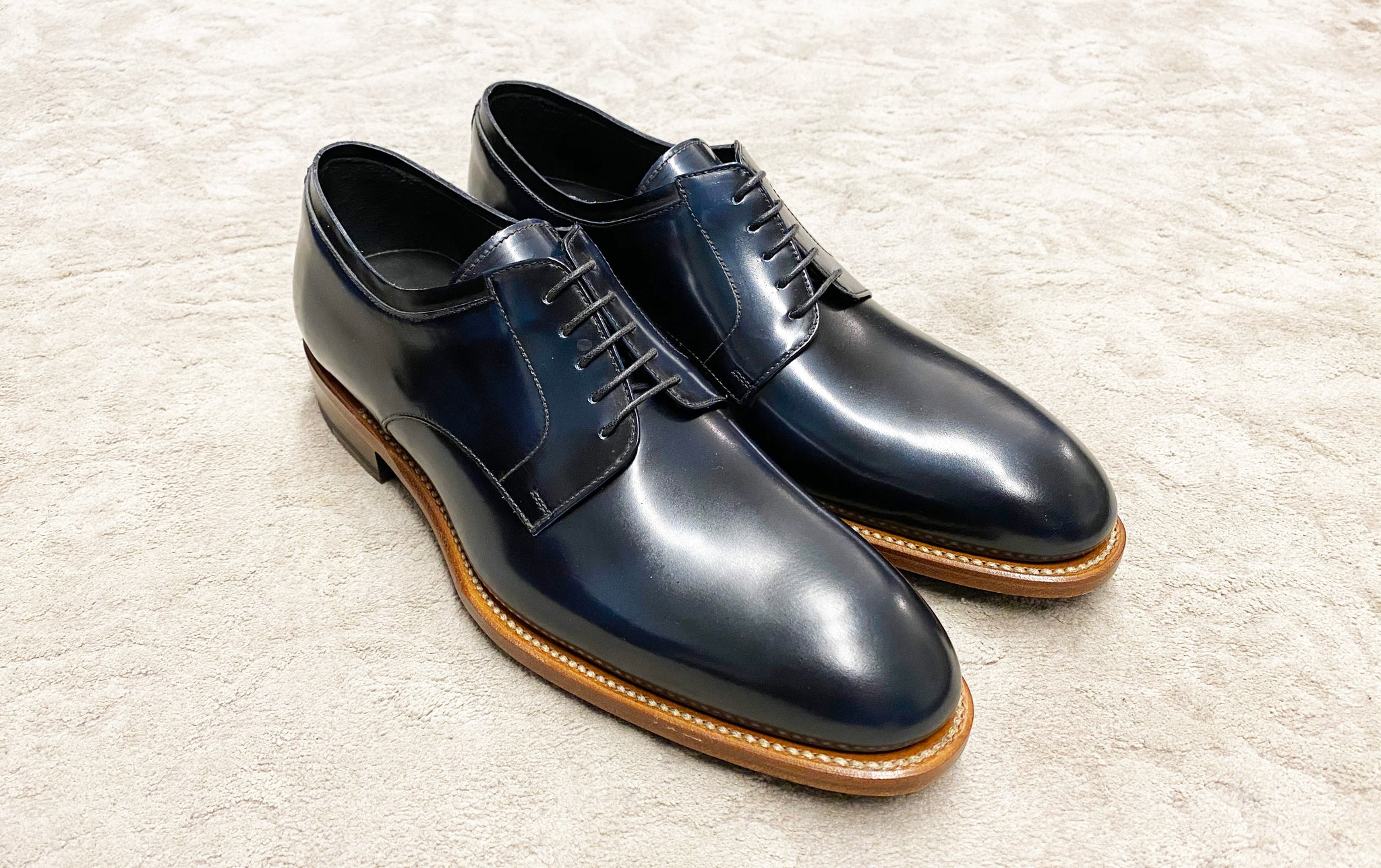 Bondeno Bespoke Custom Made leather dress shoes for men