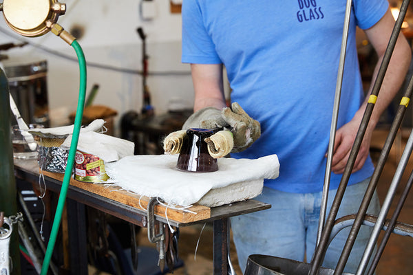 Glassblowing with Hayden Wilson