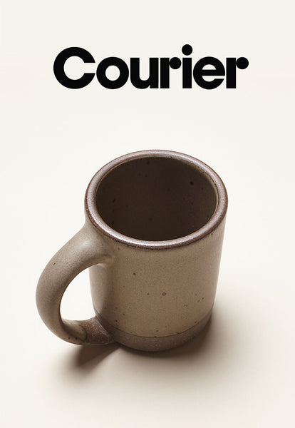 Courier- One Mug at a Time
