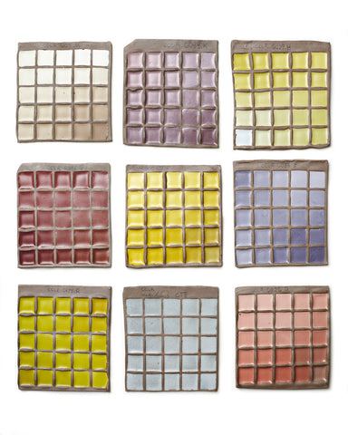 Glaze Test Tiles from Asheville North Carolina Henri Matisse
