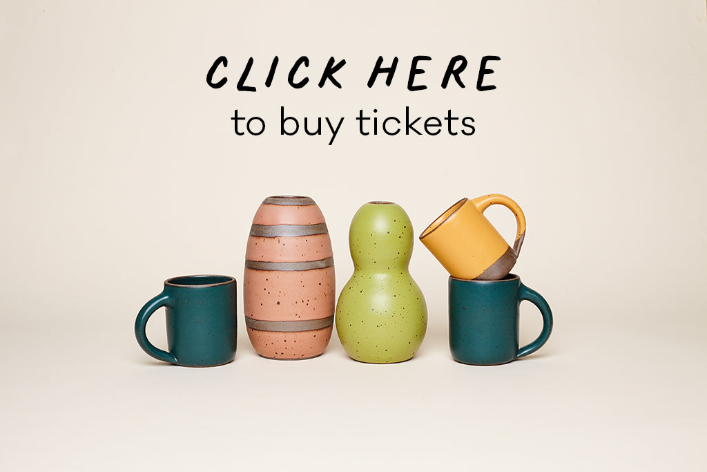 Click here to buy raffle tickets for East Fork pottery in collaboration with Colorful Pages Coalition Asheville North Carolina