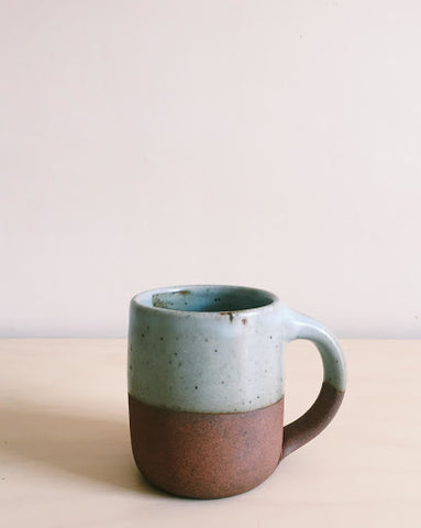 An early gas-fired Mug