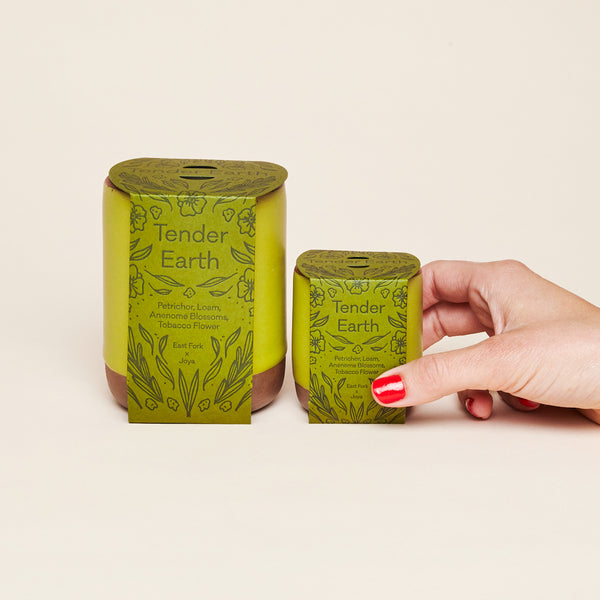 Tender Earth Candles in Two Sizes