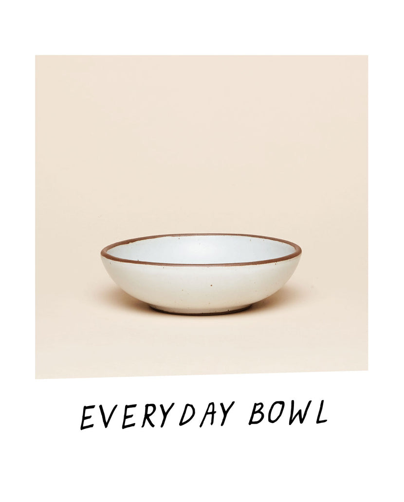 The Everyday Bowl in Eggshell