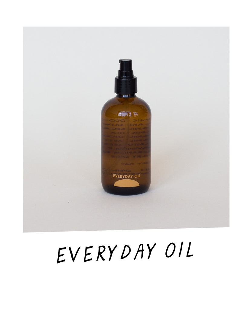 A bottle of Everyday Oil