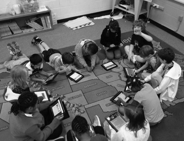 Teacher grant for iPads in the classroom.