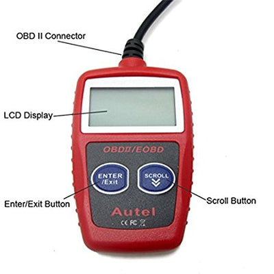 OBD2 Car Diagnostics Tool (With LCD Display)