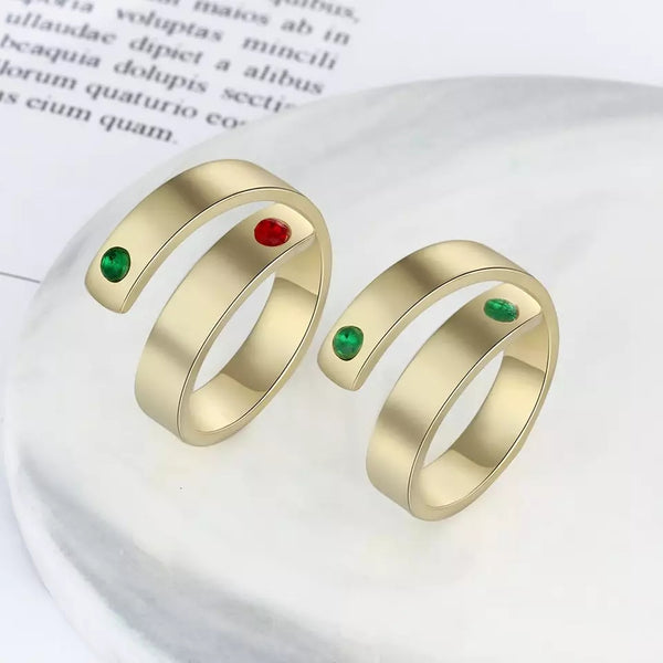 Personalized Mother Rings