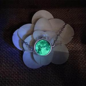 Glow In The Dark Moon Bracelet - Chakra Bracelet