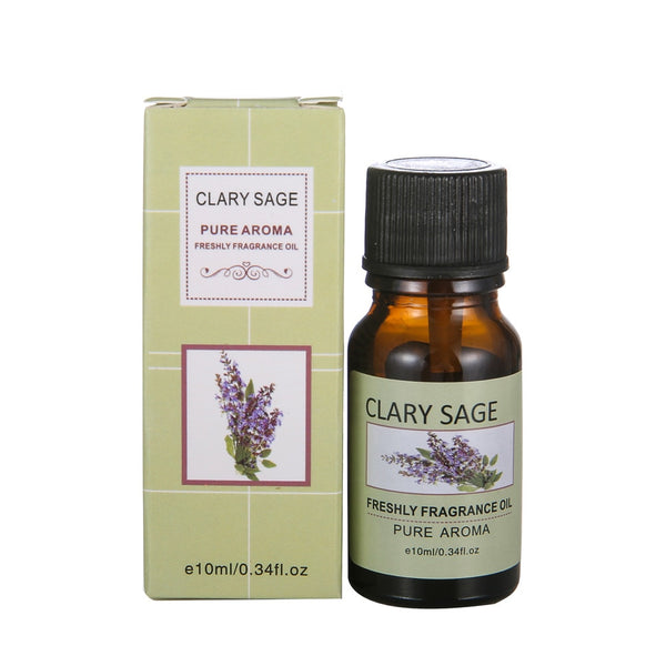 Clary Sage - Pure Essential Oils for Aromatherapy, Massage, Skin Care. - Chakra Bracelet