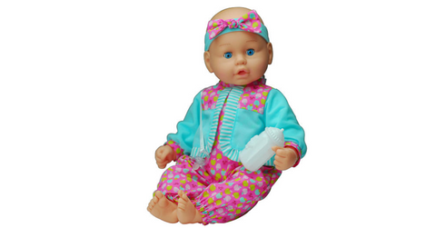 "Baby's First Unbelievably Soft Baby Doll 19"" Air Baby Doll"