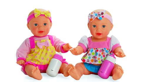 Baby's First Talking Bottle Baby Doll