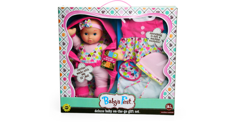 Baby's First On The Go Layette Doll Set